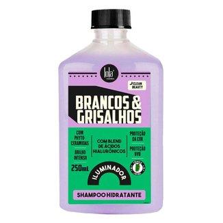 Shampoo Lola Cosmetics Brancos & Grisalhos Hidratante Iluminador 250ml
