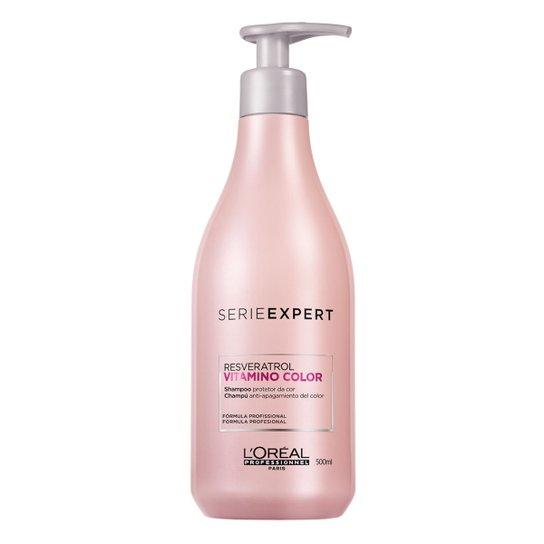 Shampoo L'Oréal Profissionnel Serie Expert Vitamino Color 500ml - Incolor