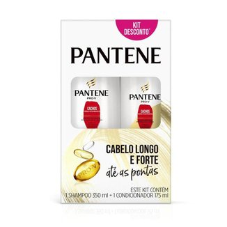 Shampoo Pantene Cachos Hidra-Vitaminados 350ml + Condicionador 175ml