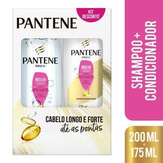 Shampoo Pantene Micelar 200ml + Condicionador 175ml