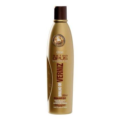 Shampoo para Cabelo Brilho De Verniz Salon Opus 350 ml