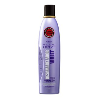 Shampoo para Cabelo Desamarelador Violet Salon Opus 350 ml