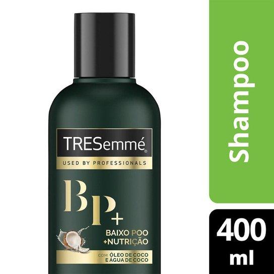 Shampoo Tresemmé Baixo Poo Nutrição 400ml - Incolor