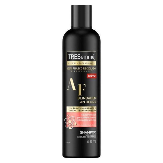 Shampoo Tresemmé Blindagem Antifrizz Frasco 400ml - Única
