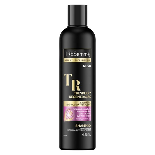 Shampoo Tresemmé Blindagem Platinum 400ml - Incolor