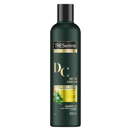 Shampoo Tresemmé Detox Capilar 400ml - Incolor