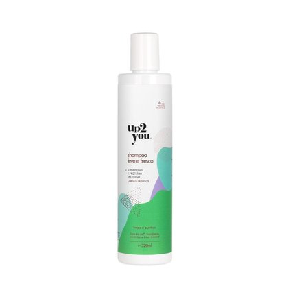 Shampoo Up2You Leve e Fresco 320ml