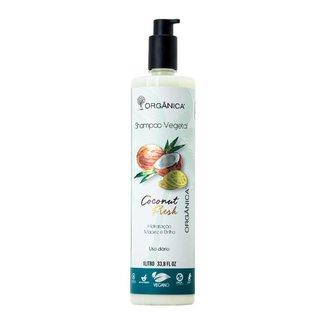 Shampoo Vegetal Coconut Fresh Vegano 1 litro Orgânica