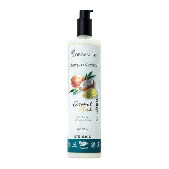 Shampoo Vegetal Coconut Fresh Vegano 1 litro Orgânica -