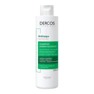 Shampoo Vichy Dercos Anticaspa Sensível 200ml