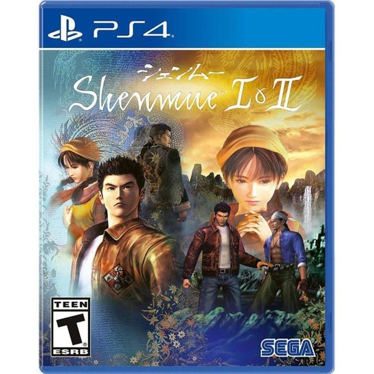 Shenmue I & II - Ps4 - Incolor