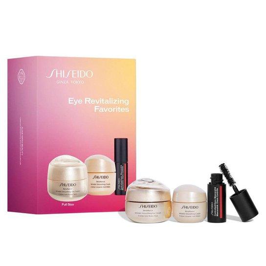 Shiseido Eye Revitalizing Favorites Kit – 2 Cremes para Área dos Olhos + Máscara de Cílios Kit - Incolor