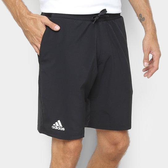 Short Adidas Club Stretch Woven 9 Masculina - Preto