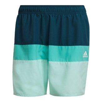 Short Adidas Colorblock Masculino