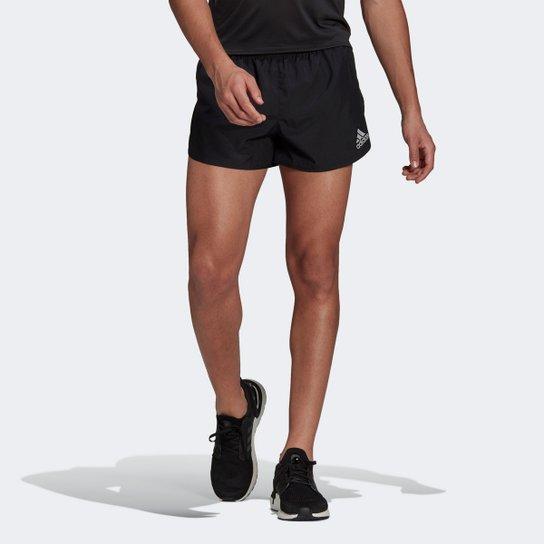 Short Adidas Fast Split Masculino - Preto