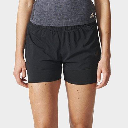 Short Adidas M10 2 Em 1 Feminino