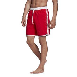 Short Adidas Natação 3 Stripes CLX Masculino - Ve