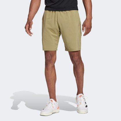 Short Adidas Tennis Club 3 Listras Masculino