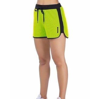 Short c/ Estampa Verde Neon