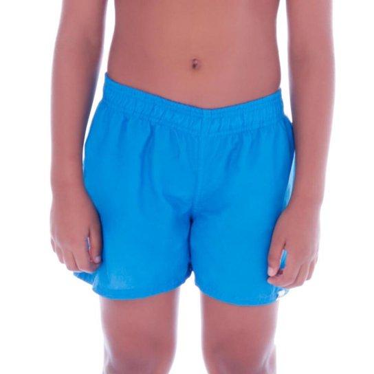 Short Cecí Moda Praia Infantil Masculino - Azul