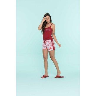 Short Doll Adulto Feminino Coracao  Ref. 13275