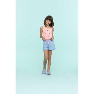 Short Doll Infantil Feminino Fabulous Ref. 13262