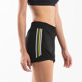Short Duplo Feminino Run Collors -
