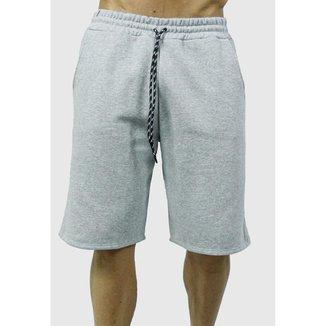 Short Essentials 2 Traits Moletom _ masculino Slim fit