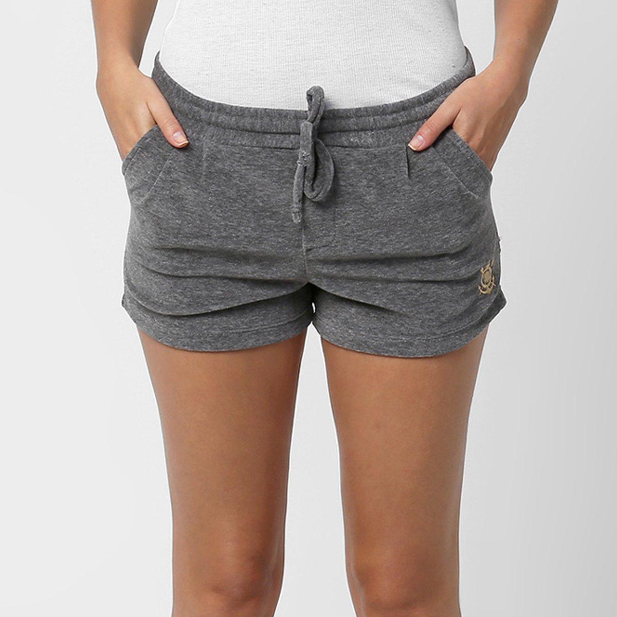 Short Feminino Corinthians Soft - Compre Agora  f68457069558e