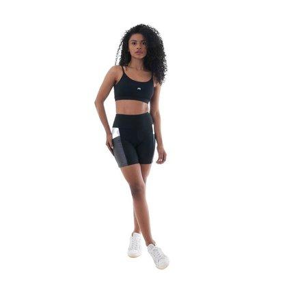 SHORT FIT PACE ALTO FEMININO FITROOM ACADEMIA CAMINHADA MODA fitness Treino Corrida Esporte