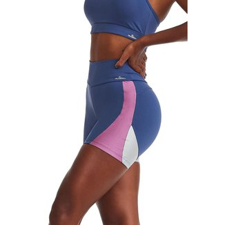 Short Fitness Emana Harmony Azul G CAJUBRASIL