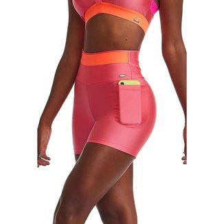 Short Fitness Mystic Rosa Neon G CAJUBRASIL