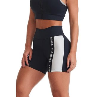 Short Fitness NZ Strenght Preto G CAJUBRASIL