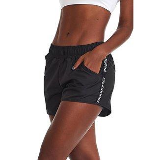 Short Fitness Run Preto M CAJUBRASIL