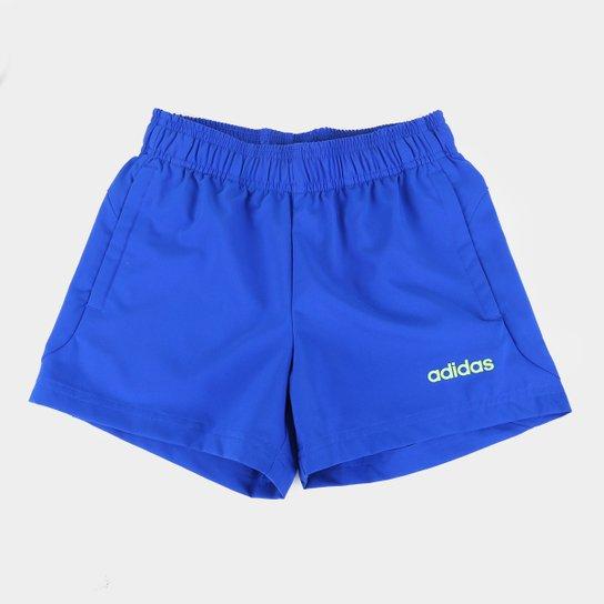 Short Infantil Adidas Pln Ch Masculino - Azul Royal