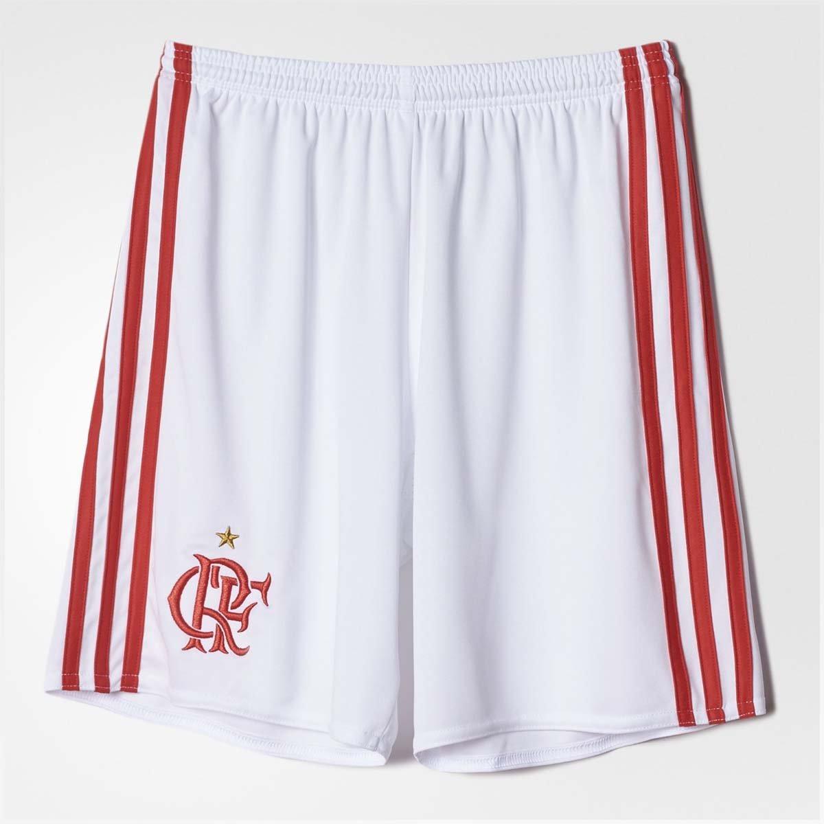 037d67541e Short Infantil Flamengo Oficial I Adidas 2016 - Compre Agora