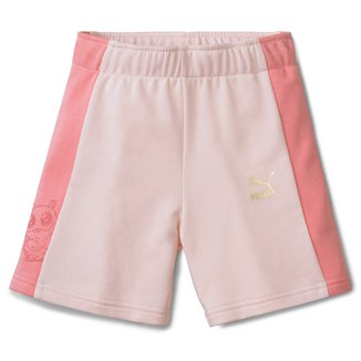 Short Infantil Puma Monster Feminino