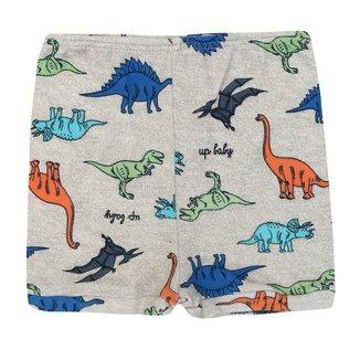 Short Infantil Suedine Dinossauros Masculino