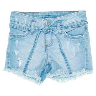 Short Jeans Infantil Mania Feminino