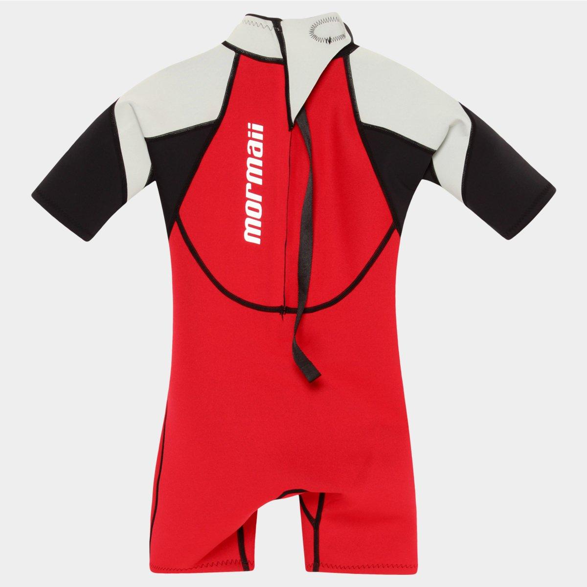 Short John Infantil Mormaii Neoprene Gromm 1 1.5 mm - Vermelho e ... c12fdb9eed