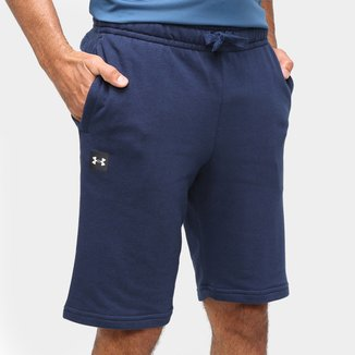 Short Moletom Under Armour Rival Fleece Bl Masculino
