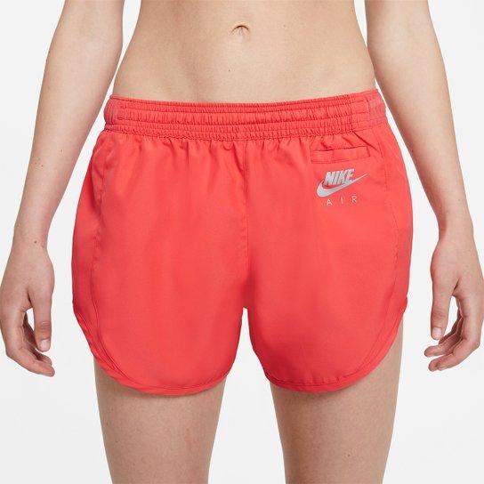 Short Nike Air Dri-Fit Feminino - Coral