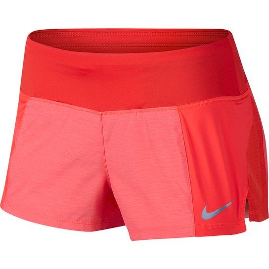 Short Nike Crew 2 Feminino - Vermelho