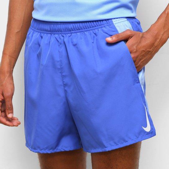Short Nike Dri-Fit Challenger 5 In BF Masculino - Azul