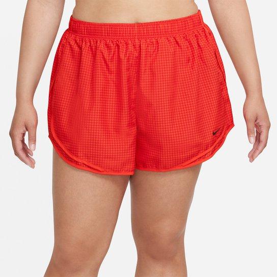 Short Nike Dri-fit Icon Clash Tempo Feminino - Vermelho