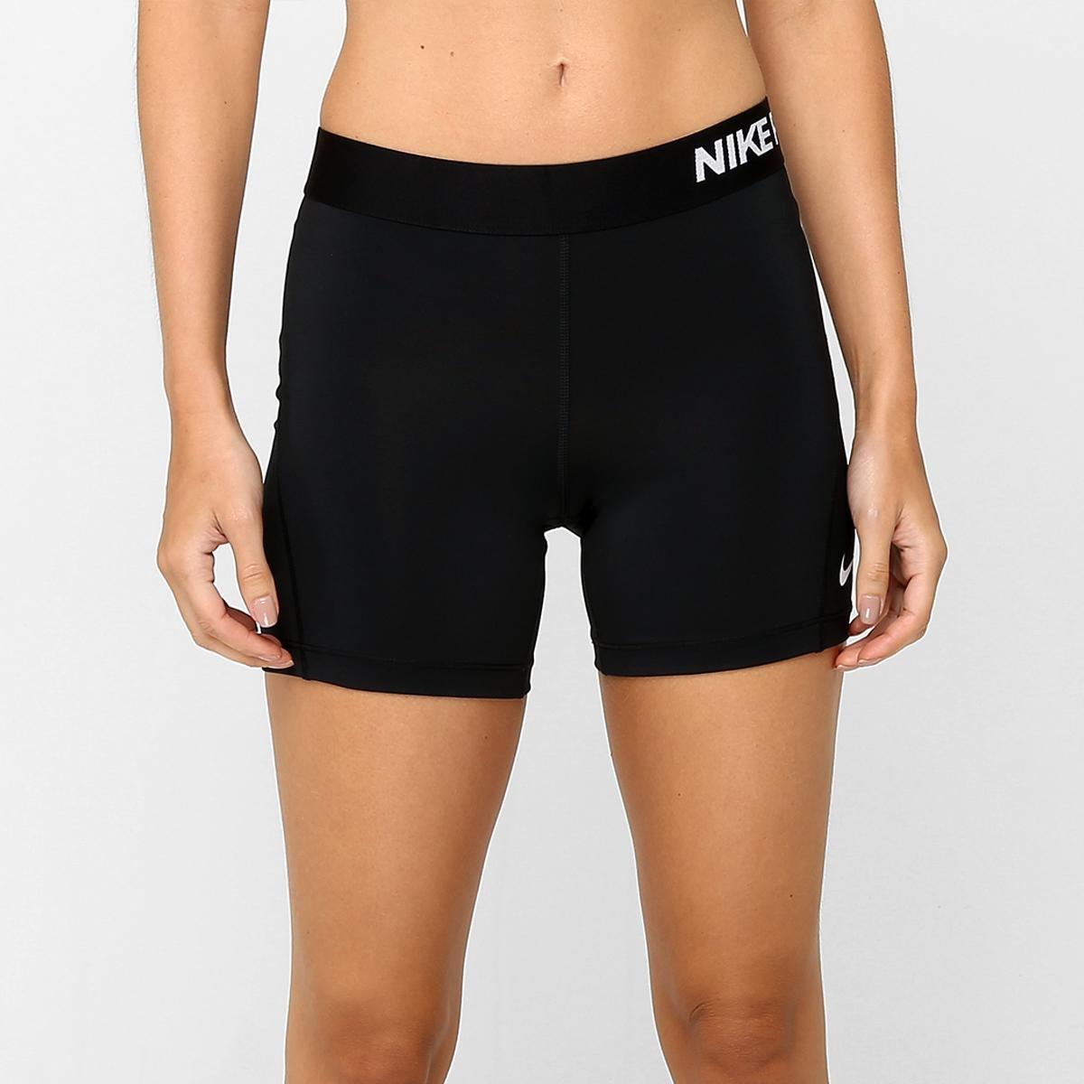 Short Nike Pro Cool 5 Pol Feminino Preto