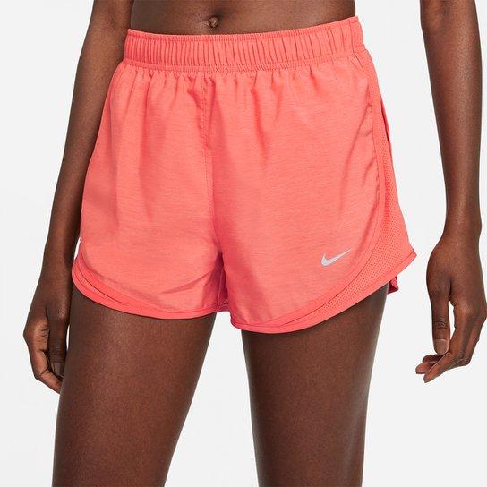 Short Nike Tempo Feminino - Coral