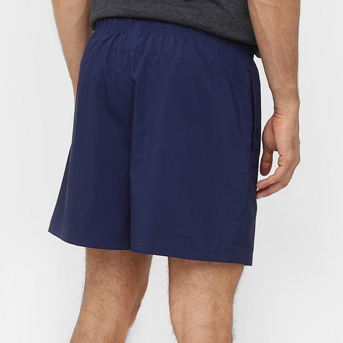 Short Puma Active Essential Woven 5 Masculino - Marinho - Compre ... 72aefd9ba3084