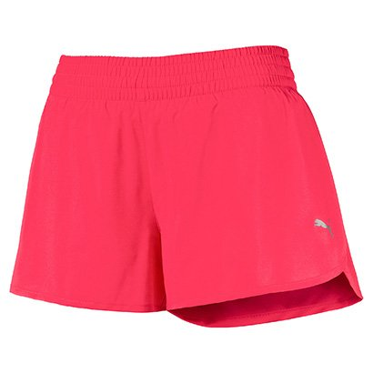 Short Puma Core Run 3 Pol Feminino