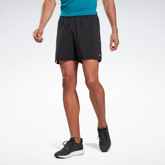 Short Reebok 2 em 1 Running Essentials Masculino